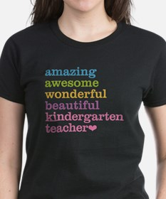 Kindergarten Teacher Tee