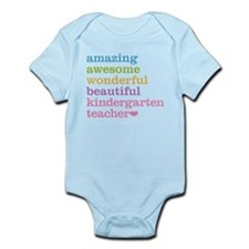 Kindergarten Teacher Body Suit