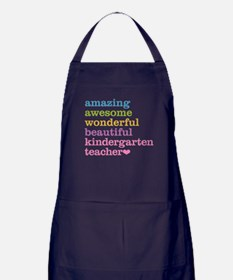 Kindergarten Teacher Apron (dark)