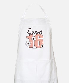 Sweet Sixteen 16th Birthday Craft or Cooking Apron