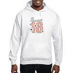 Sweet Sixteen 16th Birthday Hooded Sweatshirt