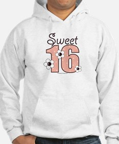 Sweet Sixteen 16th Birthday Hoodie
