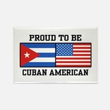 Proud To Be Cuban American Rectangle Magnet