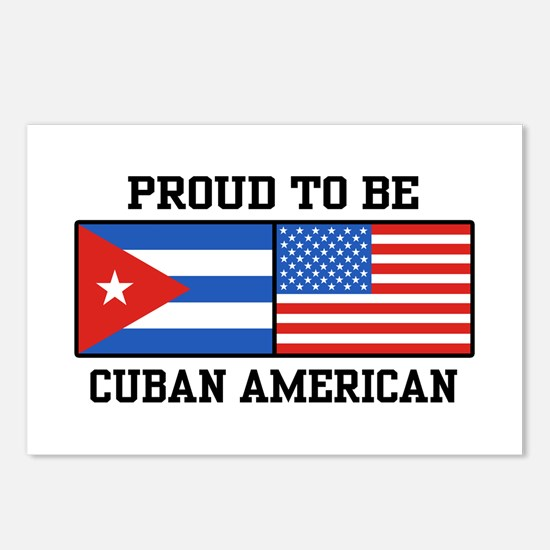 Proud To Be Cuban American Postcards (Package of