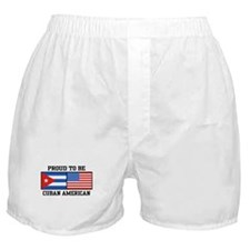 Proud To Be Cuban American Boxer Shorts