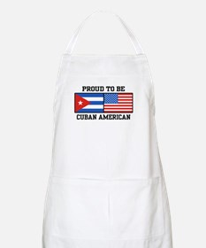 Proud To Be Cuban American BBQ Apron