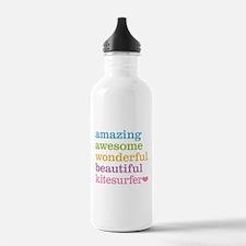 Awesome Kitesurfer Water Bottle