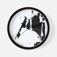 legs city Wall Clock