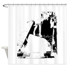 legs city Shower Curtain