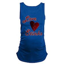 Love Stinks Maternity Tank Top