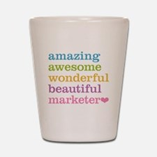 Awesome Marketer Shot Glass