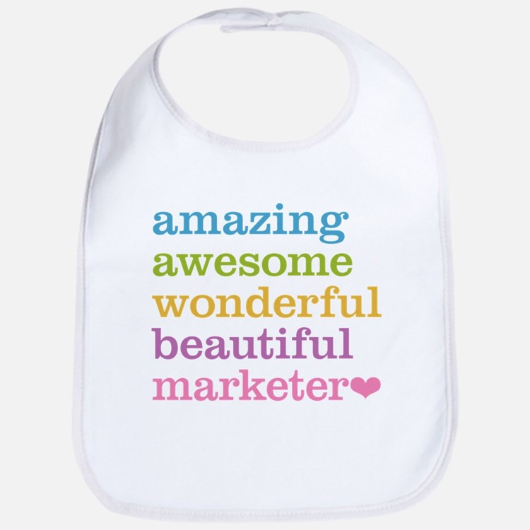 Awesome Marketer Bib