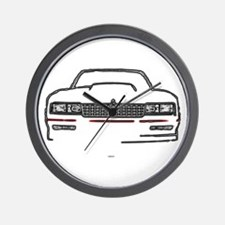 The Full Monte Wall Clock