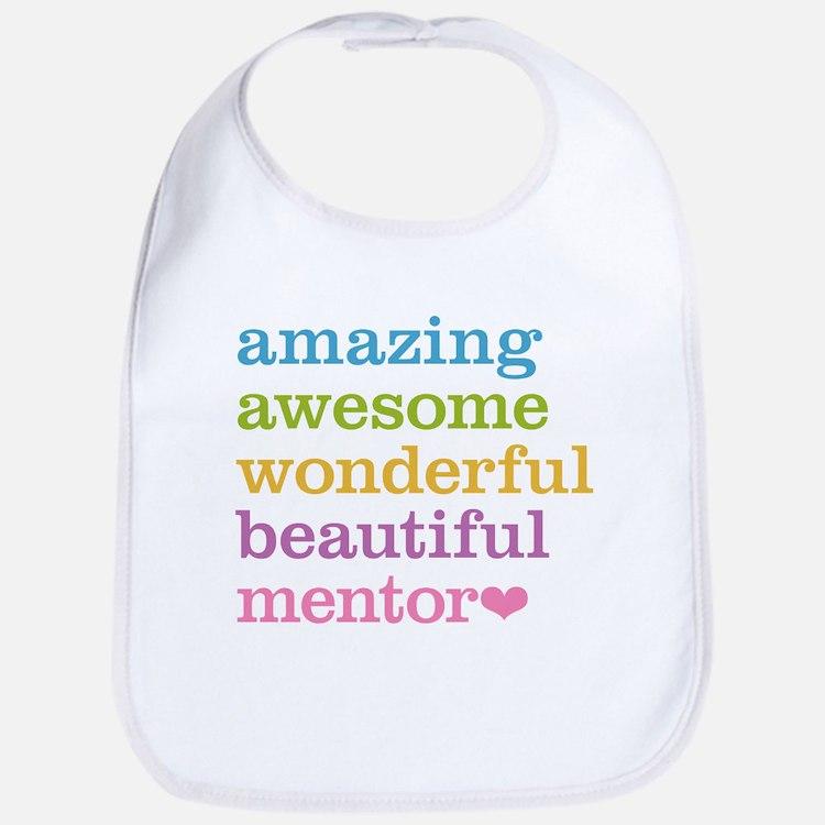 Awesome Mentor Bib