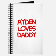 Ayden Loves Daddy Journal
