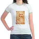Leonardo da Vinci Jr. Ringer T-Shirt
