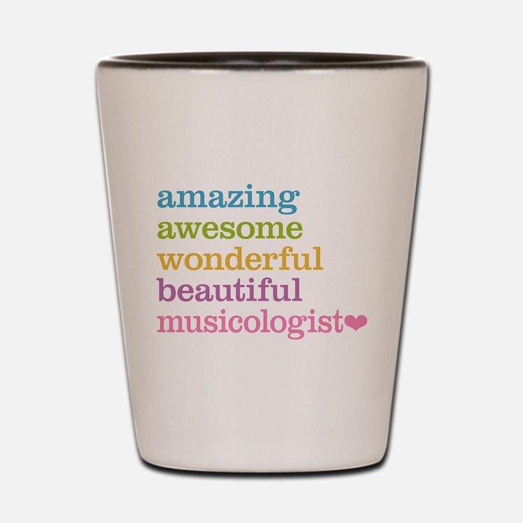 Musicologist Shot Glass