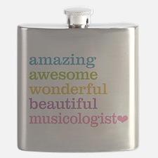 Musicologist Flask