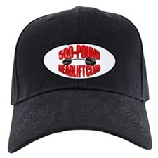 500-Pound Deadlift Club Baseball Cap