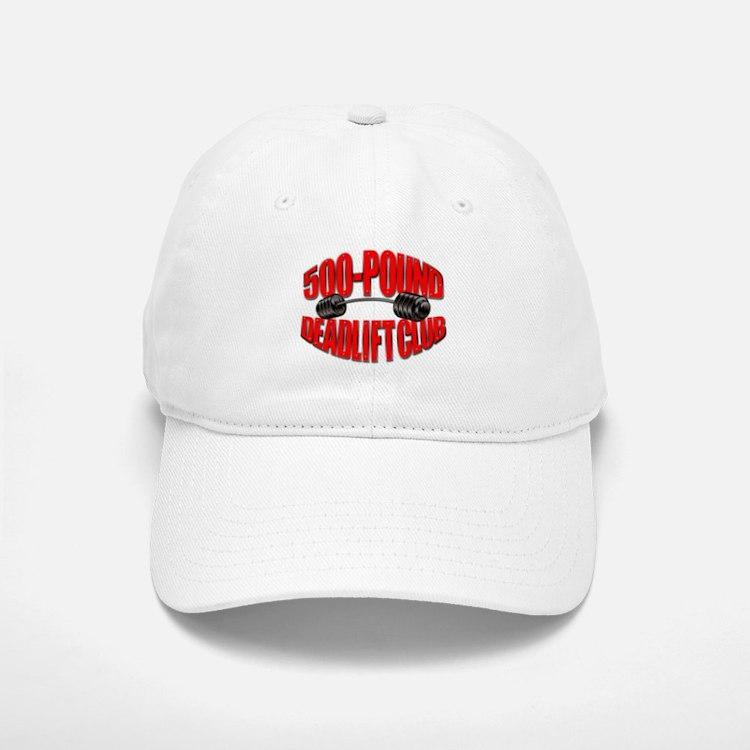 500-Pound Deadlift Club Baseball Baseball Cap