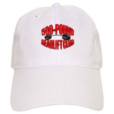500-Pound Deadlift Club Cap