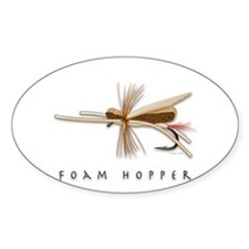 Cute Fly fishing Decal