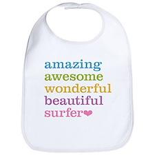 Awesome Surfer Bib