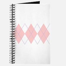 """""""Pink Argyle"""" Journal"""