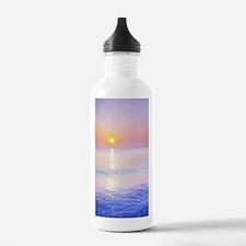 Cute Pink sunrise Water Bottle