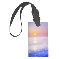 Unique Pink sunrise Luggage Tag