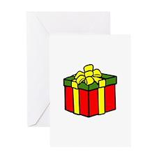 CHRISTMAS PRESENT APPLIQUE Greeting Cards