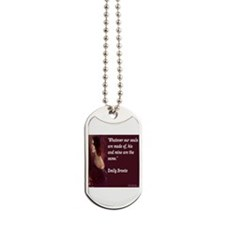 Emily Bronte Dog Tags