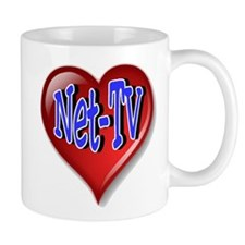 Net-TV Heart Mug