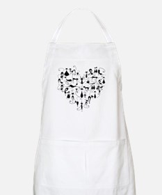 Heart Cats Apron