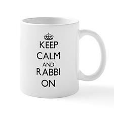 Keep Calm and Rabbi ON Mugs