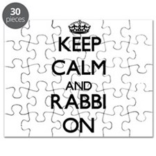 Keep Calm and Rabbi ON Puzzle