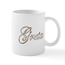 Gold Greta Mug