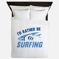 I'd Rather Be Surfing Queen Duvet