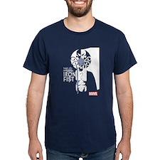 Iron Fist White Blue T-Shirt