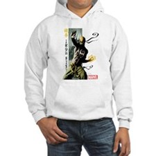 Iron Fist Vertical Cover Paintin Hoodie