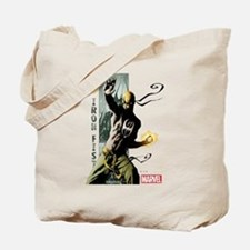 Iron Fist Vertical Cover Painting Tote Bag