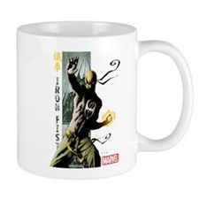 Iron Fist Vertical Cover Painting Mug