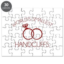 World's Smallest Handcuffs Puzzle