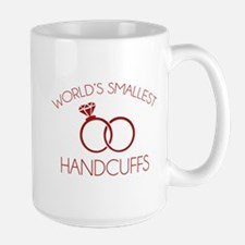 World's Smallest Handcuffs Mug