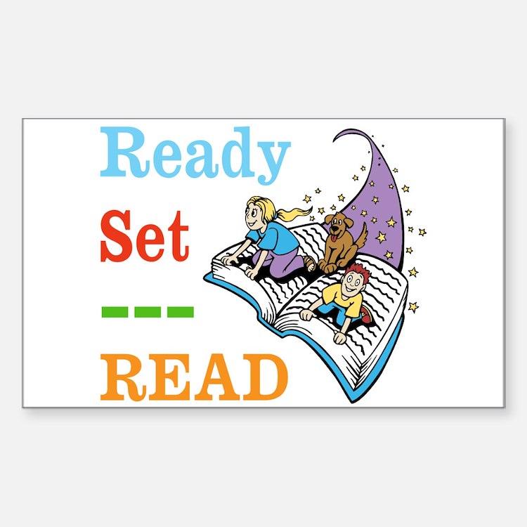 Ready Set Read Decal