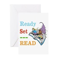 Ready Set Read Greeting Cards