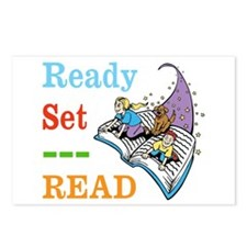 Ready Set Read Postcards (Package of 8)