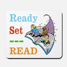 Ready Set Read Mousepad