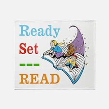 Ready Set Read Throw Blanket