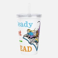 Ready Set Read Acrylic Double-wall Tumbler